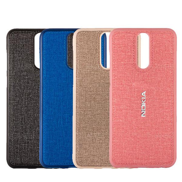 قاب طرح پارچه ای مناسب نوکیا Nokia X6 / 6.1 Plus