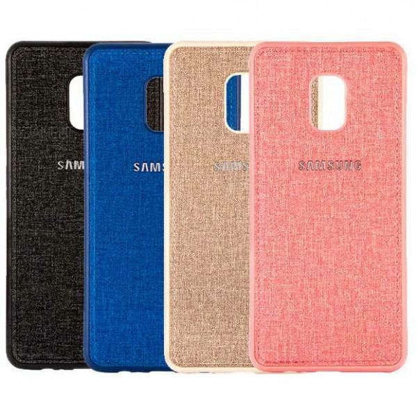 قاب طرح پارچه ای مناسب سامسونگ Samsung Galaxy J7 2018