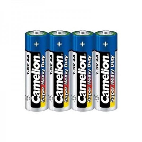 باتری قلمی 4 تایی کملیون Camelion LR6-BP4DG Alkaline AA