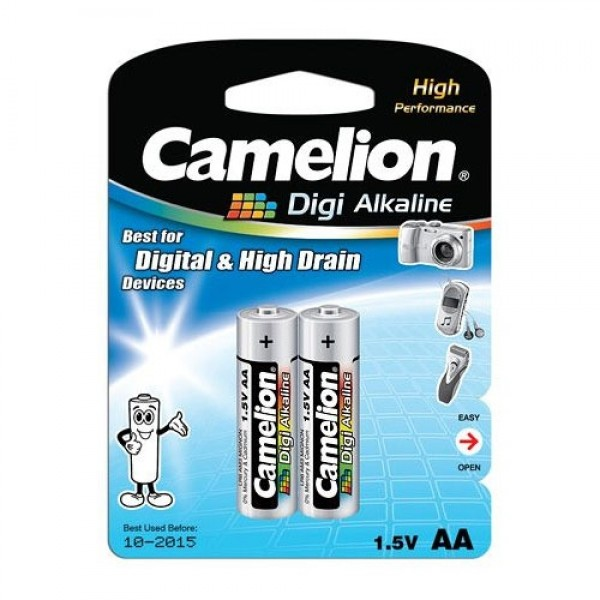 باتری قلمی کملیون Camelion LR6-BP2DG Alkaline AA