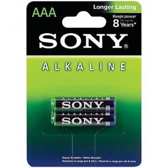 باتری نیم قلمی سونی مدل LR03 Alkaline AAA