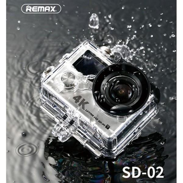 دوربین ورزشی ضدآب ریمکس Remax SD-02 4K Ultra HD