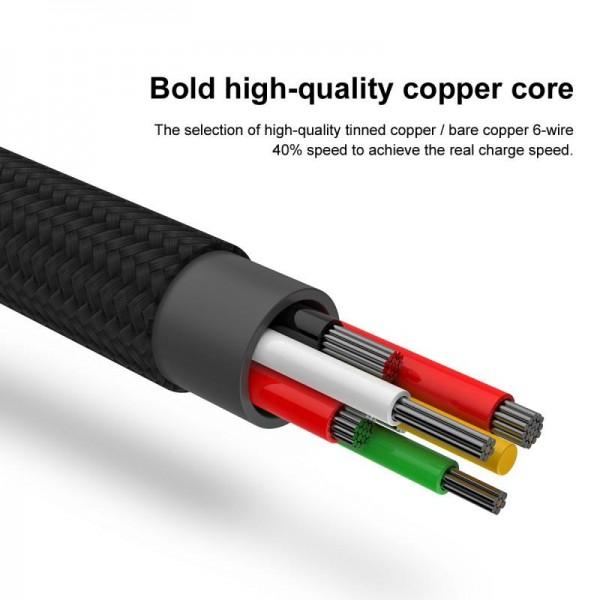 کابل فست شارژ Type C بیسوس Baseus Speed QC For Huawei CATKC-01 توان 5 آمپر