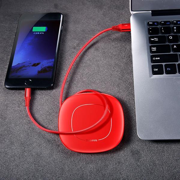 کابل لایتنینگ بیسوس Baseus Red Cable