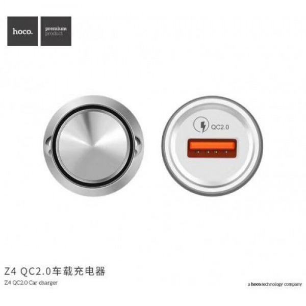 شارژر فندکی فست شارژ Qualcomm 2.0 هوکو Hoco Z4
