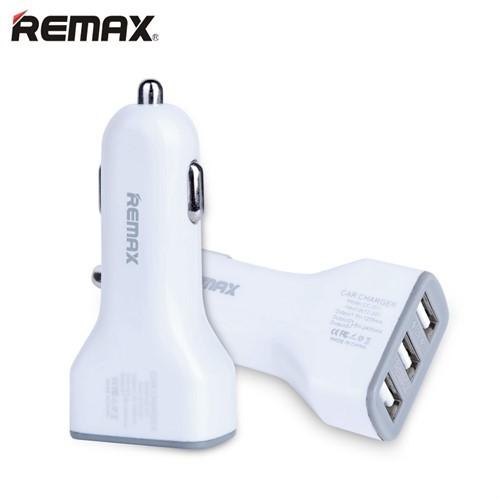 شارژر فندکی 3 پورت ریمکس Remax Jian CC301