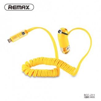 شارژر فندکی ریمکس Remax RCC211 Cutie با کابل سه کاره