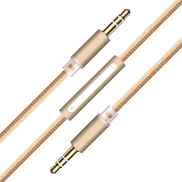 کابل انتقال صدا دارای میکروفون کتتسی Coteetci S3 Nylon