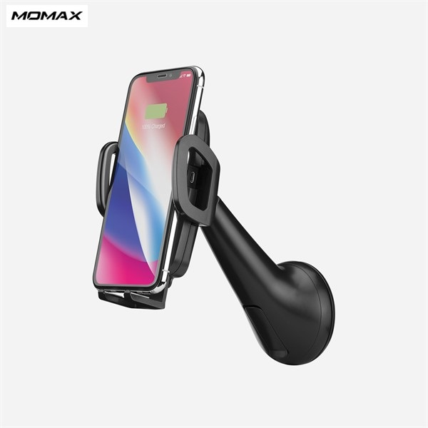 پایه نگهدارنده و شارژر وایرلس و شارژر فندکی Momax CM7