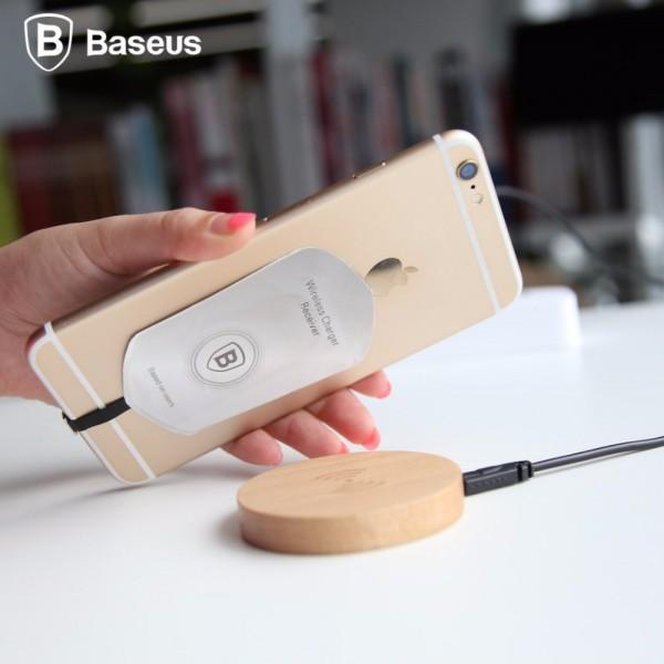 کیت شارژر وایرلس لایتنینگ مدل Baseus Wriphone QIG2
