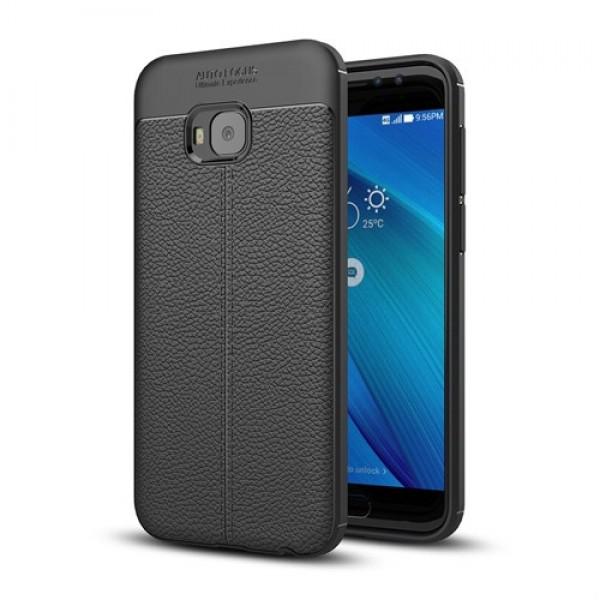 قاب محافظ ژله ای طرح چرم Asus Zenfone 4 Selfie Pro ZD552KL مدل Auto Focus