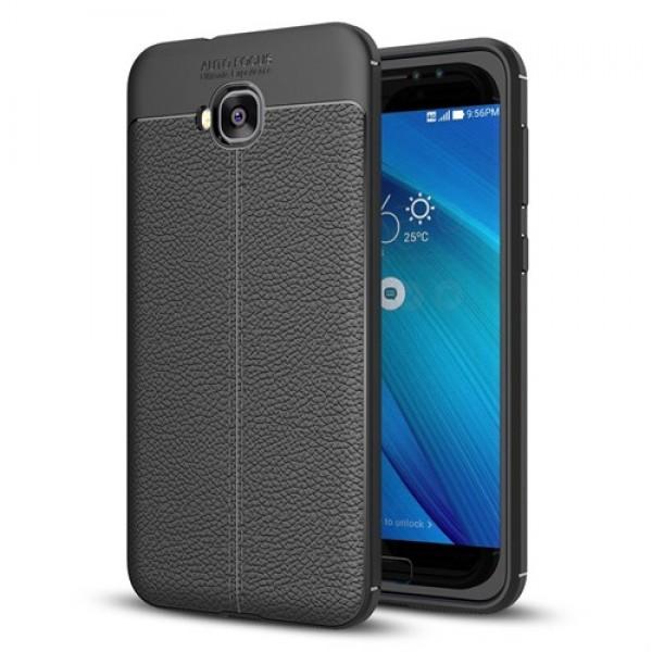 قاب محافظ ژله ای طرح چرم Asus Zenfone 4 Selfie ZD553KL مدل Auto Focus