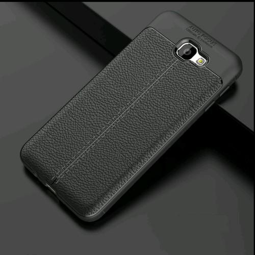 قاب محافظ ژله ای طرح چرم Samsung Galaxy J7 Prime 2 مدل Auto Focus