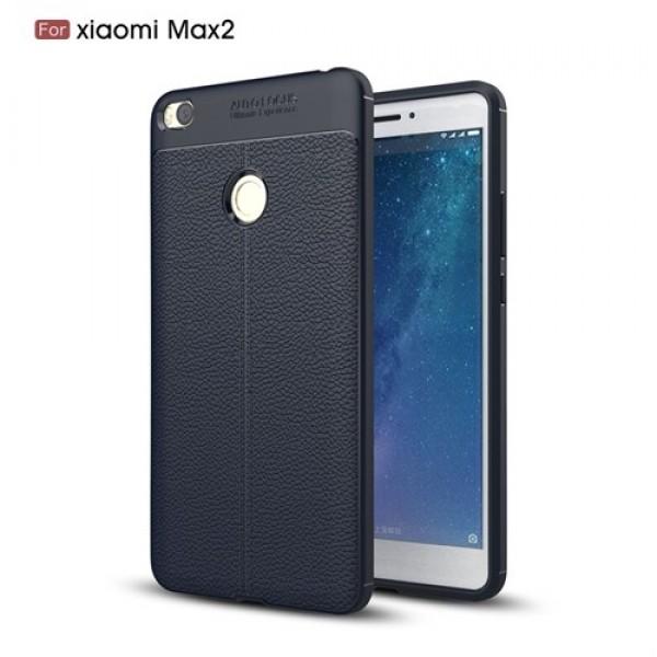 قاب محافظ ژله ای طرح چرم Xiaomi Mi Max 2 مدل Auto Focus