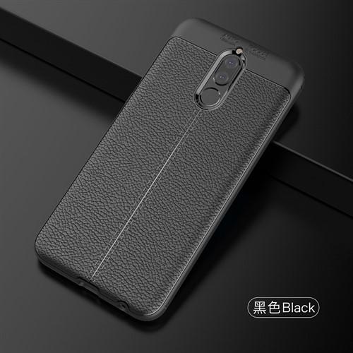 قاب محافظ ژله ای طرح چرم Huawei Mate 10 Lite / Nova 2i مدل Auto Focus