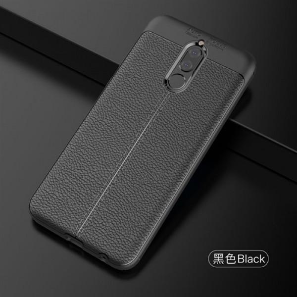 قاب محافظ ژله ای طرح چرم Huawei Mate 10 Lite / Nova 2i / Honor 9N / Honor 9i مدل Auto Focus