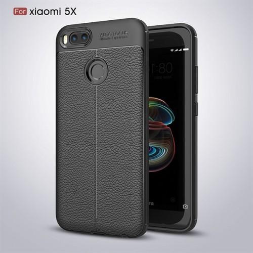 قاب محافظ ژله ای طرح چرم Xiaomi Mi A1 / 5X مدل Auto Focus