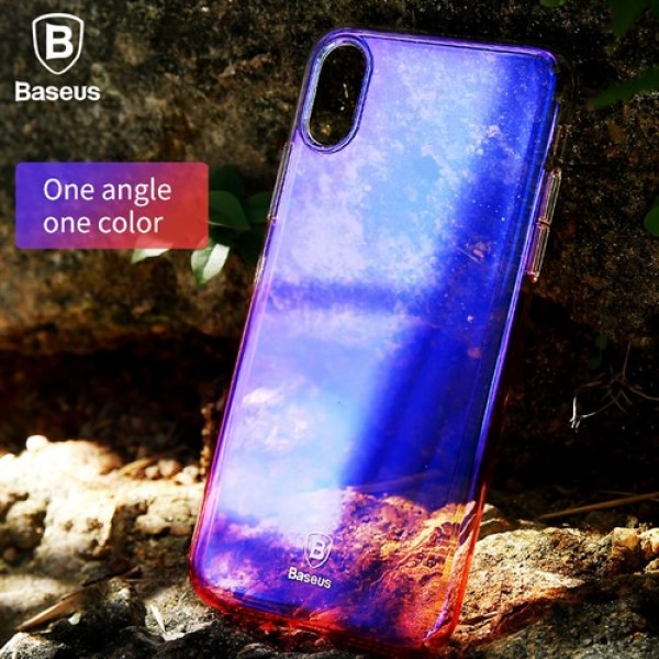 قاب بیسوس Baseus Glaze Case Apple iPhone X