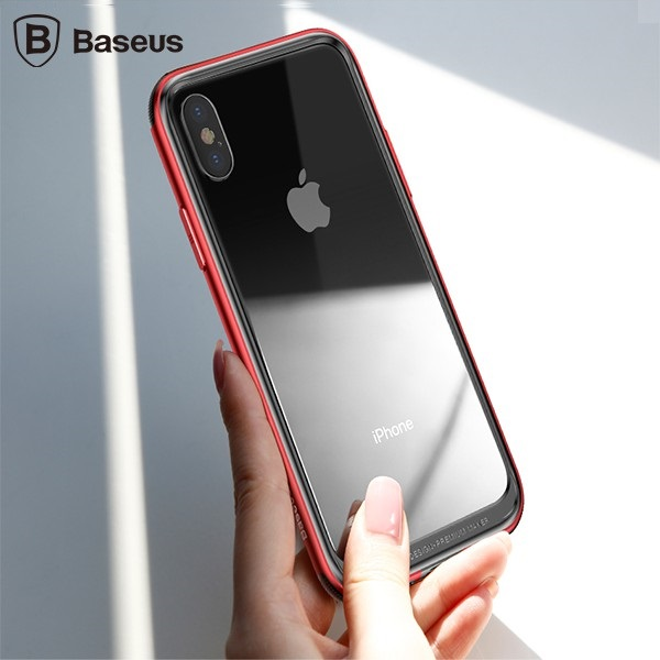 بامپر آلومینیومی بیسوس Baseus Platinum Metal مناسب برای Apple iPhone X