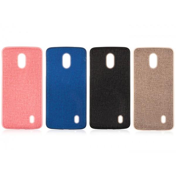 قاب طرح پارچه ای مناسب Nokia 1