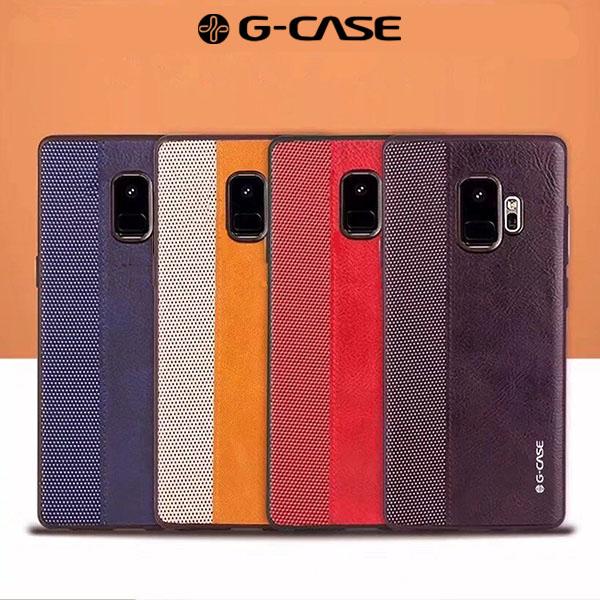 قاب چرمی G-Case مدل Earl مناسب Samsung Galaxy S9