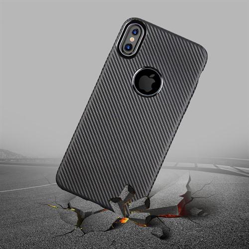کاور فیبر کربنی Huanmin مناسب Apple iPhone X