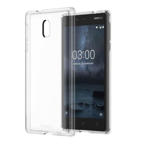قاب ژله ای مناسب نوکیا Nokia 3
