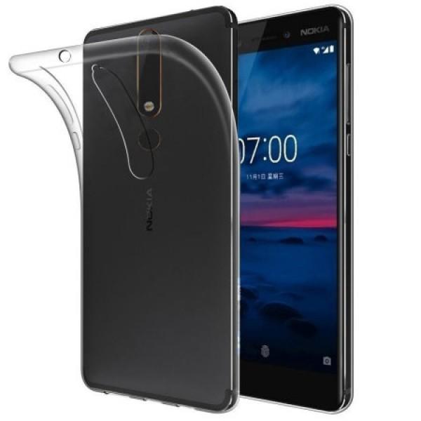 قاب ژله ای Nokia 6.1 2018