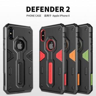 کاور محافظ نیلکین مدل Defender II مناسب Apple iPhone X