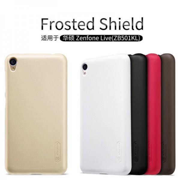 کاور محافظ نیلکین مدل Frosted Shield مناسب Asus Zenfone Live ZB501KL