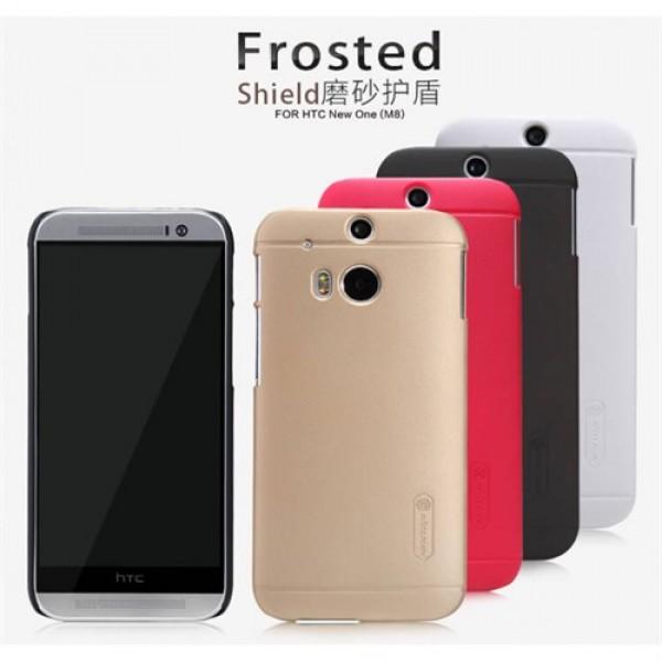 کاور محافظ نیلکین مدل Frosted Shield مناسب HTC One M8