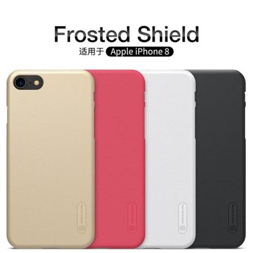 قاب محافظ آیفون Apple iPhone 8 نیلکین مدل Frosted Sheild