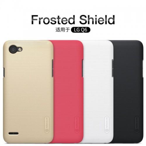 قاب محافظ نیلکین LG Q6 مدل Frosted Sheild