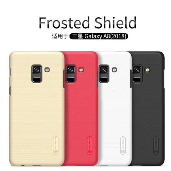 کاور محافظ نیلکین مدل Frosted Shield مناسب Samsung Galaxy A8 2018