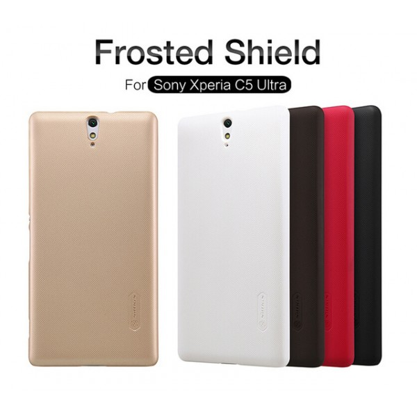 کاور محافظ نیلکین مدل Frosted Shield مناسب Sony Xperia C5 Ultra