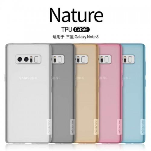 گارد ژله ای نیلکین Nature TPU مناسب Samsung Galaxy Note 8