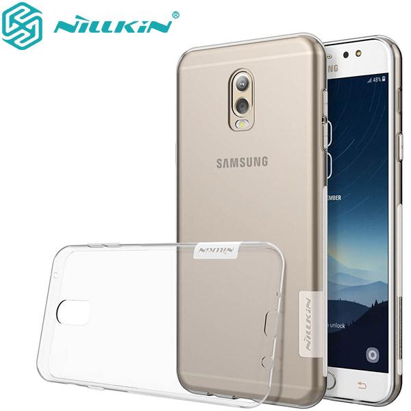 گارد ژله ای نیلکین Nature TPU مناسب Samsung Galaxy C8/J7 Plus