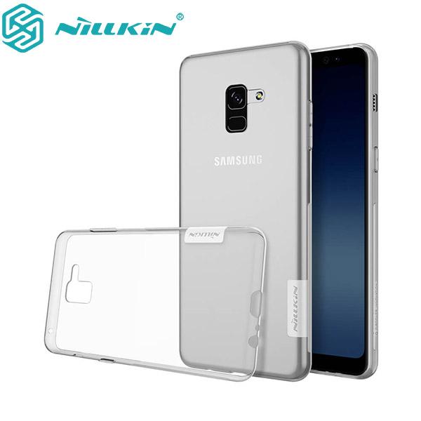گارد ژله ای نیلکین Nature TPU مناسب Samsung Galaxy A8 Plus 2018