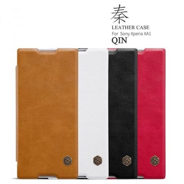 کیف چرمی نیلکین سونی Sony Xperia XA1 Nillkin Qin Leather Case