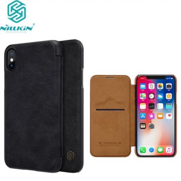 کیف چرمی نیلکین مدل Qin مناسب Apple iPhone X