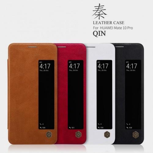 کیف چرمی Huawei Mate 10 Pro نیلکین مدل Qin