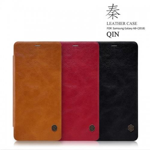 کیف چرمی نیلکین مدل Qin مناسب Samsung Galaxy A8 Plus 2018
