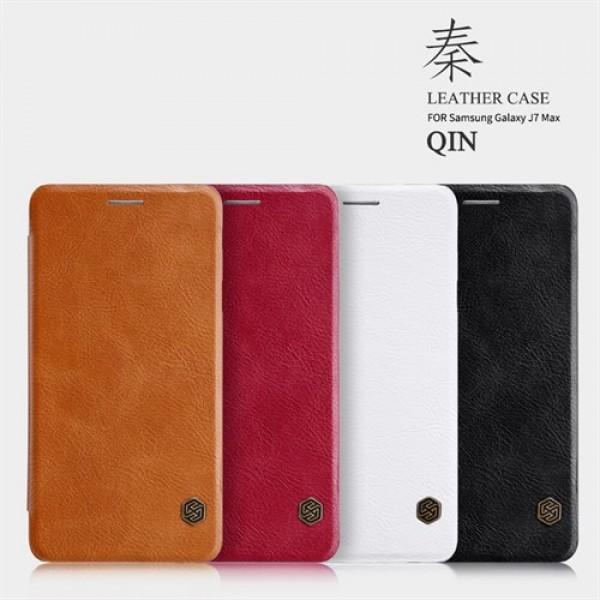 کیف چرمی نیلکین سامسونگ Samsung Galaxy J7 Max Nillkin Qin