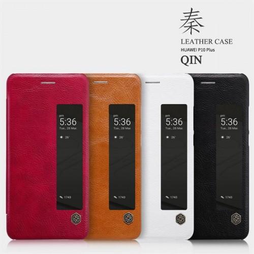 کیف چرمی نیلکین مدل Qin مناسب Huawei P10 Plus