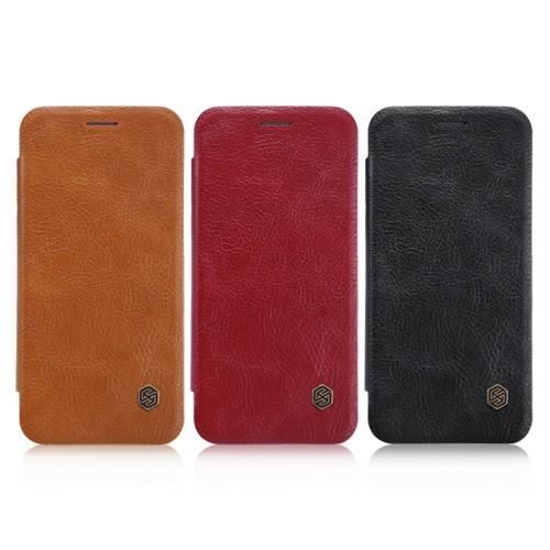 کیف چرمی نیلکین Nillkin Qin Case Huawei P20 Lite / Nova 3e