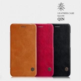 کیف چرمی نیلکین شیائومی Xiaomi Mi 6 Nillkin Qin Leather Case