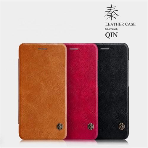 کیف چرمی Xiaomi Mi 6 نیلکین مدل Qin