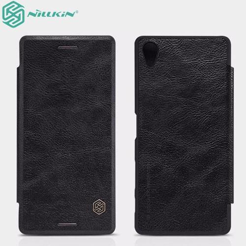 کیف چرمی نیلکین مدل Qin مناسب Sony Xperia X