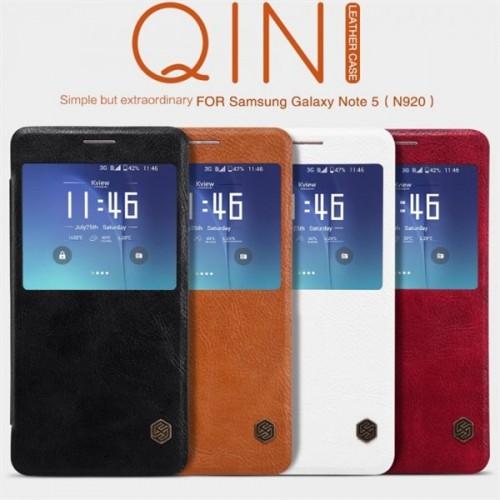 کیف چرمی نیلکین مدل Qin مناسب Samsung Galaxy Note 5