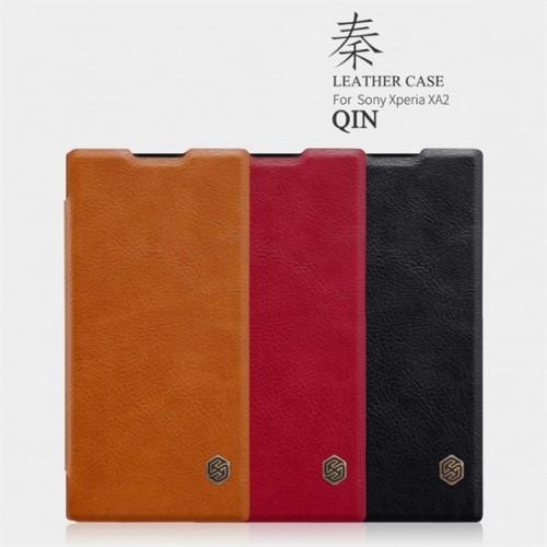 کیف چرمی نیلکین مدل Qin مناسب Sony Xperia XA2